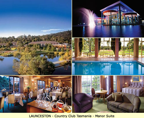 Launceston Luxury Accommodation - Country Club Tasmania - Manor Suite