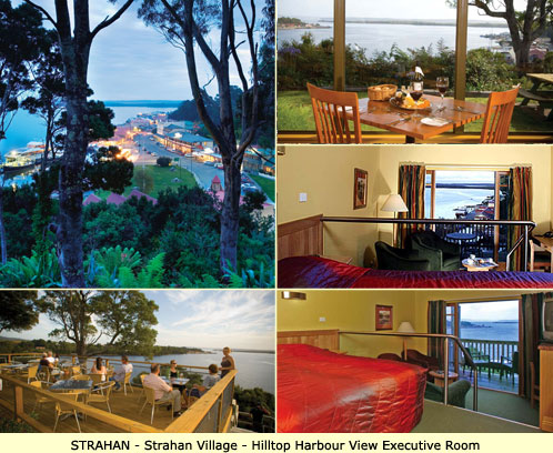 Strahan Luxury Accommodation - Strahan Village - Hilltop Harbour View Room